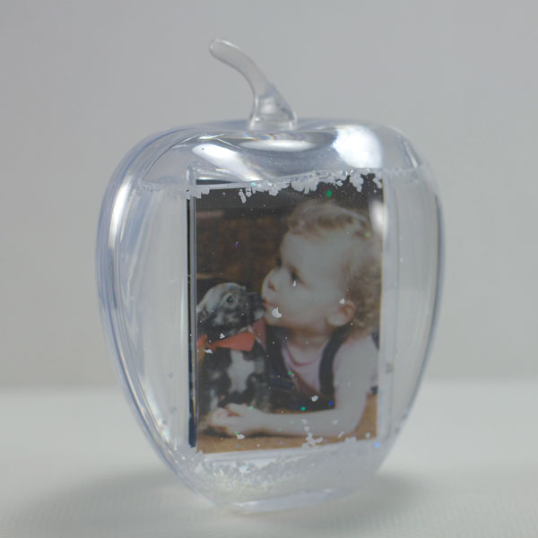 Apple Snow Globe